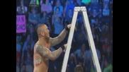 Randy Orton свали титлите като послание за другите участници, с помощ от Kane -wwe Smackdown-27/6/14