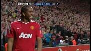 Манчестър Юнайтед 4 - 1 Шалке Андерсон Втори Гол *hq*