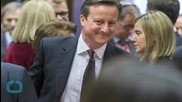 British PM Cameron Says Delighted EU Renegotiation Is Underway