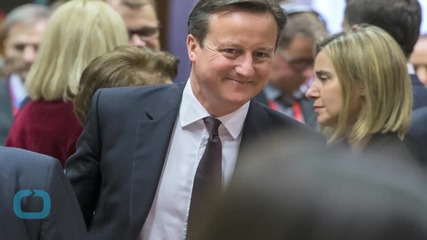 British PM Cameron Says Delighted EU Renegotiation Is Underway