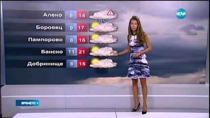 Прогноза за времето (20.08.2015 - обедна)