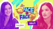 Soy Luna 3 - Лице в лице - Малена и Делфи + Превод