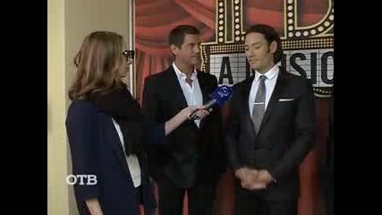 Il Divo - Интервю в Русия (24.09.14)
