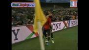 Испания - Ирак 1:0 Купа на конфедерациите 17.06.09