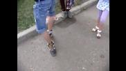 Кривене на крака