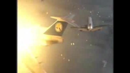 Самолетна Катастрофа Във Въздуха