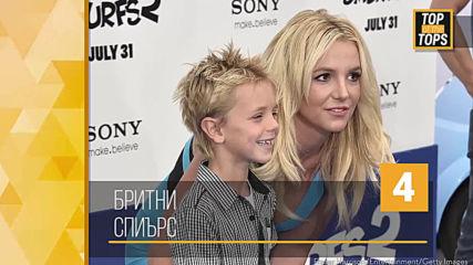 Известни личности които станаха родители скандално млади