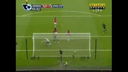Arsenal : Man Utd 0:1 - Rooney Goal