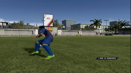 [епизод 4.] Fifa 12 Ground Moves & Freestyle Moves By Alexis Sanchez