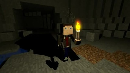 Minecraft Animation - Creepy Cave