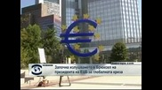 Започна изслушването на президента на ЕЦБ за световната криза