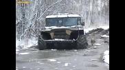 Руско страшилище vs замръзнал гьол