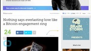 Nothing Says Everlasting Love Like a Bitcoin Engagement Ring
