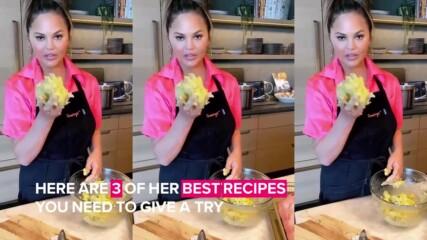 3 вкусни рецепти от Криси Тейгън