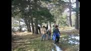 Хижа Милеви Скали В Родопите