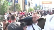 Evro 2012 Hooligans Russia vs Poland