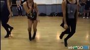 Адска хореография на мъже с токчета