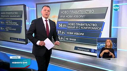 """""""Галъп"""": Мнозинството от българските граждани не вярват, че може да бъде съставено правителство"""