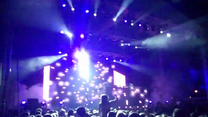 David Guetta Live Performance at Solar Summer Festival Nessebar Bulgaria 2012