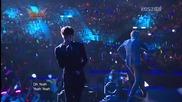 Mblaq - Oh Yeah [ Music Bank Hong Kong 06.07.2012 ]