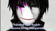 + Превод【 Nightcore 】♫ Welcome to the Masquerade ♫