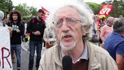 France: Trade unions protest against Valls making appearance in Nantes