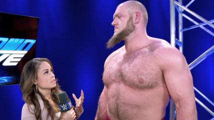 Lars Sullivan continues to wreak havoc: SmackDown LIVE, May 14, 2019