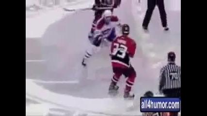 Смешната страна на хокея