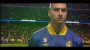 Zlatan Ibrahimovic Vs England