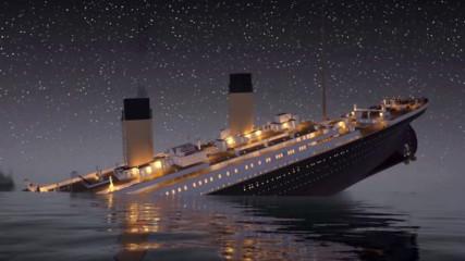 """Появи се ново откритие за потъването на """"Титаник"""""""