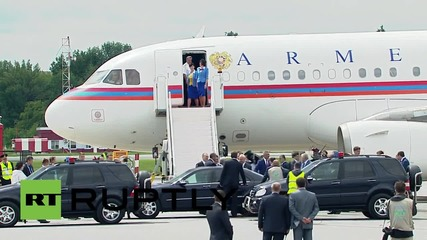 Russia: Armenian president Sargsyan jets into Ufa