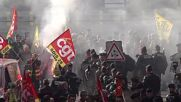 France: Thousands of firefighters march for better working conditions in Paris