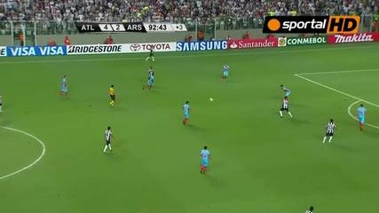Атлетико Минейро 5:2 Арсенал