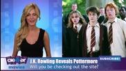 J.k. Rowling Reveals Harry Potter Website Pottermore Concept