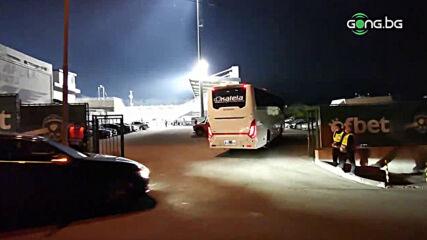 "Антверп също пристигна на ""Хювефарма Арена"""