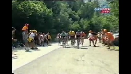 Tour de France 2003 Stage 13 Toulouse - Ax - Bonascre