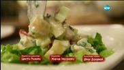 """Зеленчукова супа с тофу и крем със солен карамел в """"Бон Апети"""" този четвъртък"""