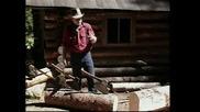 Ръчно изработване на греди за дървена къща