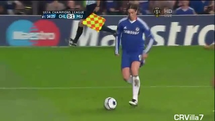 Fernando Torres vs Manchester United - Champions League - First Leg [ Volume 2 ]