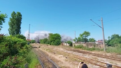 Зрелищен взрив на комин разтресе цял квартал в Пловдив