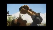 Ultimate Survival - Bear Grylls - пие течността от слонско изпражнение
