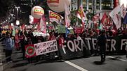 Brazil: 'Temer out!' Protesters decry acting president's reforms in Sao Paulo