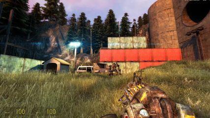 Half Life 2 Cinematic Mod 2013 Hard #05 Black Mesa East
