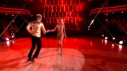 Jordan Fisher and Lindsay Arnold dance the Jive to Proud Mary