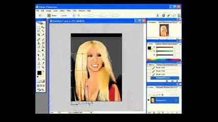 Christina Aguilera on Photoshop