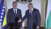 Бойко Борисов се срещна с Младен Иванич