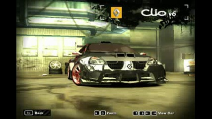 Nfs Most Wanted Clio v6