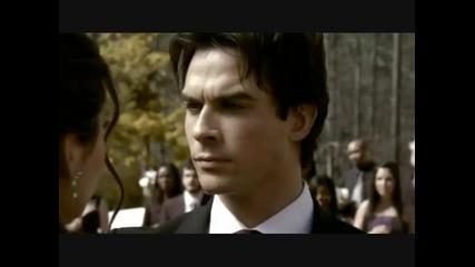 Elena and Damon Dancing