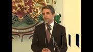 Президентът Плевнелиев се среща с български олимпийци в Деня на България в Лондон