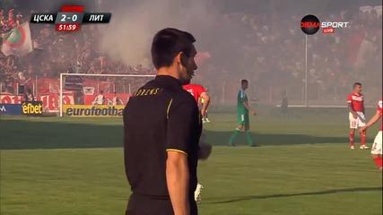 Незачетеният гол на Галчев срещу Литекс